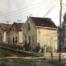 Watercolor cityscape near home remylach