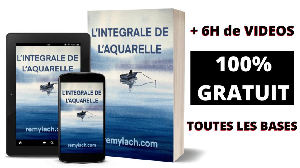 Aquarelle debutant formation 100% gratuite